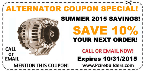 alternator repair coupon 2015